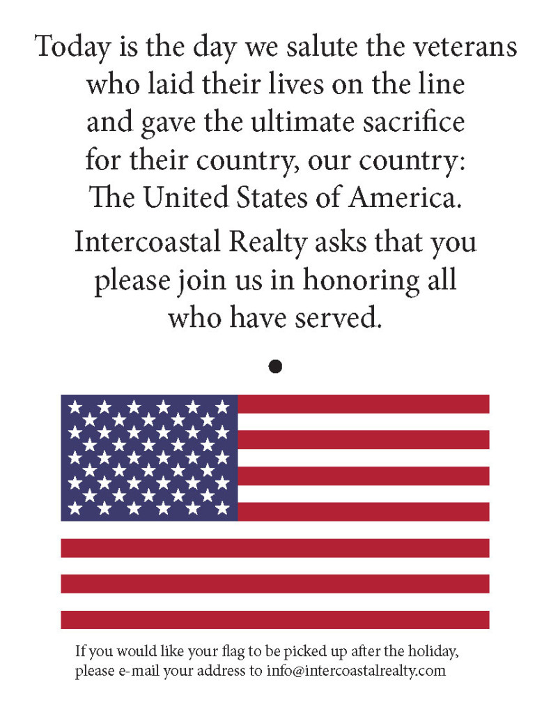 Memorial Day Flag Card